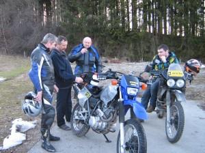 Testfahrt mit Wimos bei Hellei