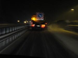Schneefall am Brenner
