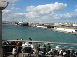 Tunis Hafen